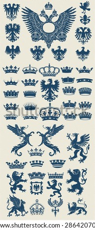 mega heraldic set