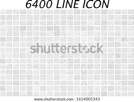 Mega icon set. Universal line sign for web design, mobile site. Medical, business, nature, family, people, education.  Foto stock ©
