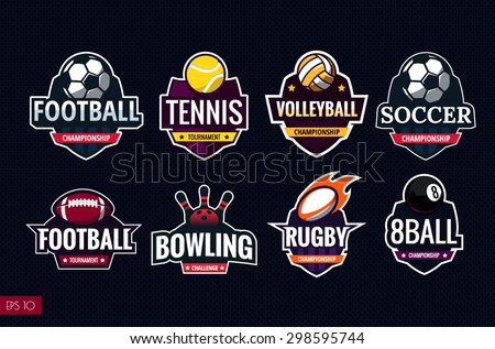 mega set of colorful sports