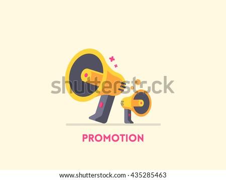 megaphone icon marketing