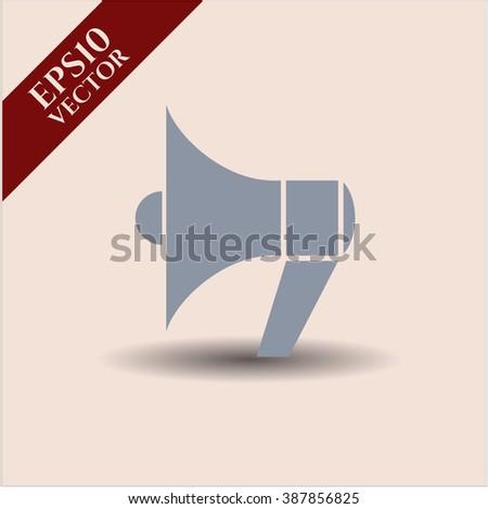 Megaphone icon or symbol