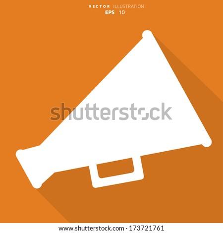 megaphone  loudspeaker icon