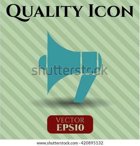 Megaphone vector icon