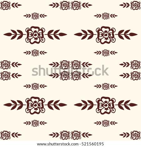Mehendi pattern illustration #521560195