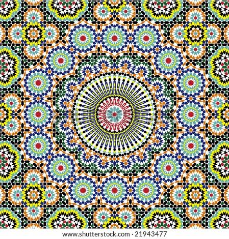 Meknes Complex Star Pattern