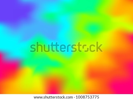 melted and blurred Thermographic background,showing different temperatures in a range of colors,mesh and smudge style ,abstract vector illustration