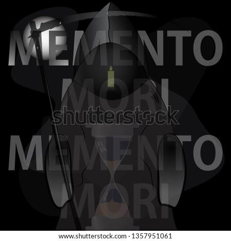 memento mori vector