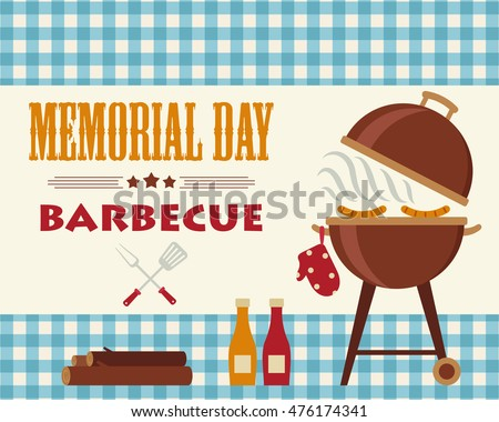 free barbecue party vector download free vector art stock