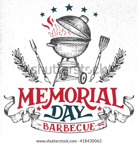 memorial day barbecue holiday...