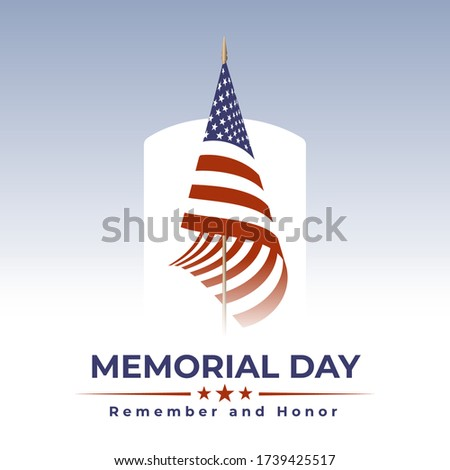 memorial day in usa with
