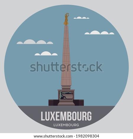 memorial obelisk in the capital