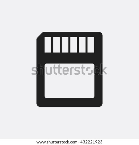 memory card icon  memory card