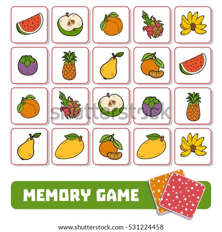 memory game for preschool