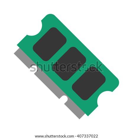 memory icon memory icon vector