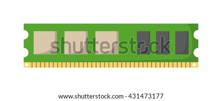 memory module slot isolated and