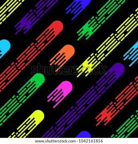 memphis vector seamless pattern