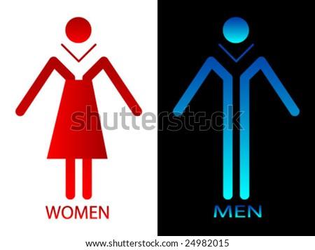 Men and Women Toilets