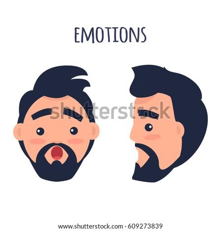 men emotions man with beard