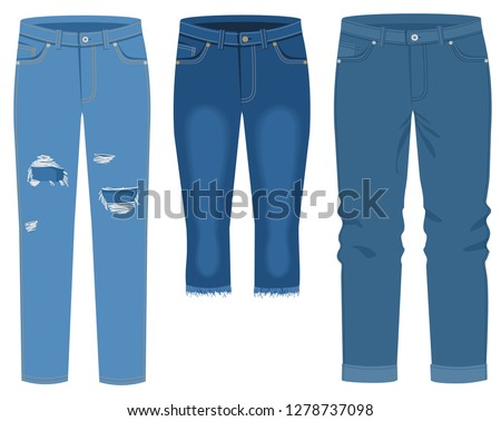 men's and women's jeans jeans