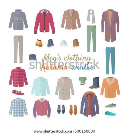 men's clothing autumn winter