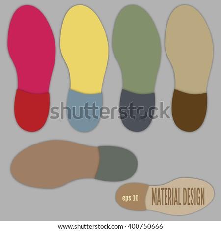 men's shoe sole material