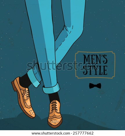 men's style   classic trousers