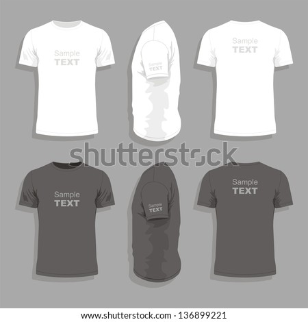 men's t shirt design template