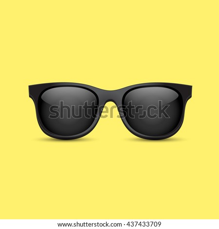 men sunglasses vector