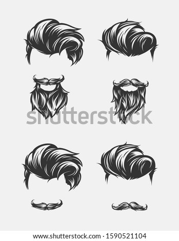 Hair Salon Logos And Clipart Mens Hair Png Stunning Free Transparent Png Clipart Images Free Download