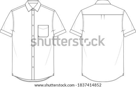 mens short sleeve shirt button