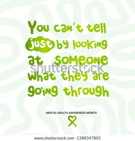 Mental health awareness month, mental health, mental health quote