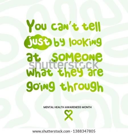 Mental health awareness month, mental health, mental health quote