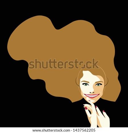 Mental Health Disorder - Smiling Depression - Smiling Depression - blond woman with a huge smile