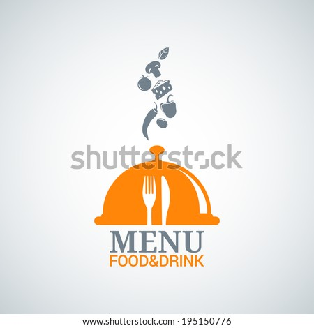 menu design food drink dishes background