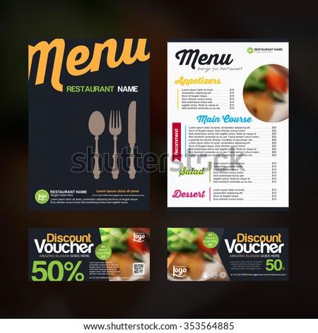 menu design template with colorful pattern,Restaurant cafe menu template