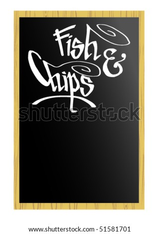 Menu - Fish & Chips