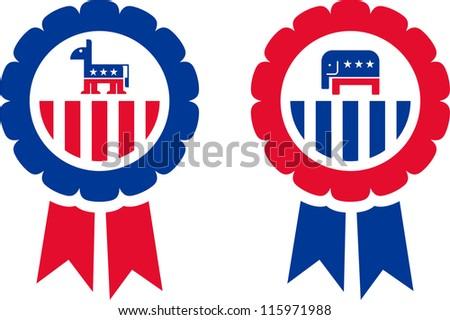 Merchandising of the Republican and Democrat Party