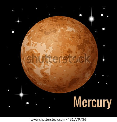 mercury is the smallest and