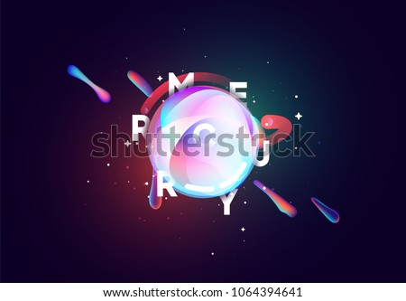 mercury planet bright abstract
