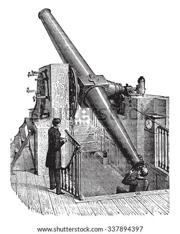 meridian telescope  vintage
