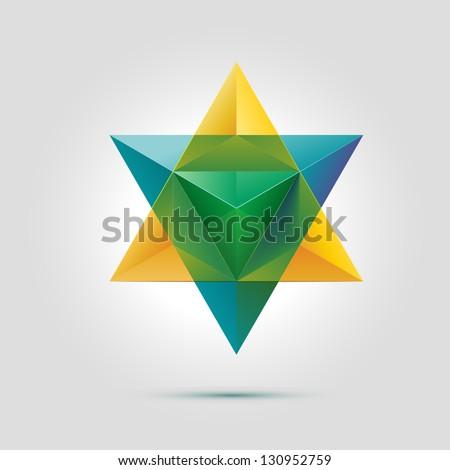 merkaba or star of david