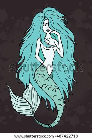 mermaid background mermaid