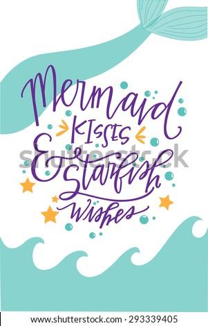 mermaid kisses and starfish