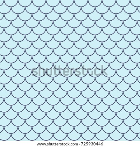 Stock Photo Mermaid tail seamless pattern. Fish skin texture. Tillable background for girl fabric, textile design, wrapping paper, swimwear or wallpaper. Purple mermaid tail background with fish scale underwater.
