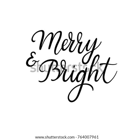 christmas and happy new year cards modern calligraphy hand lettering