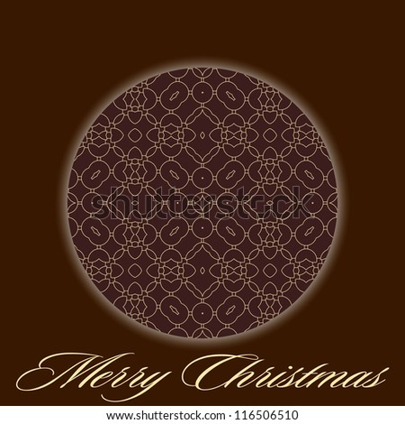 Merry Christmas! Abstract shiny background.
