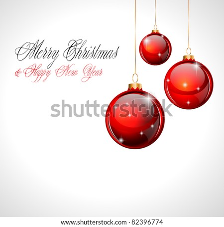 Merry Christmas and Happy New Year Background with soft white to add custom text and object easy.