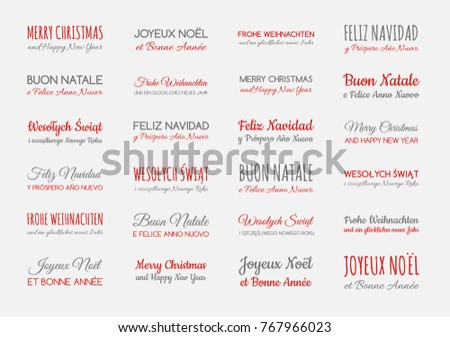 Spanish christmas greetings download free vector art stock merry christmas and happy new year in different languages english spanish german m4hsunfo