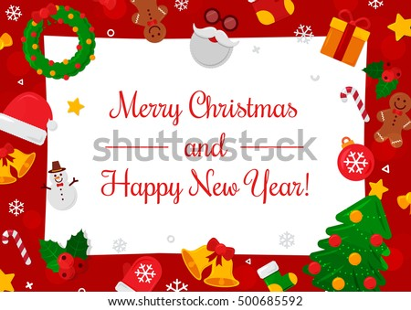 Christmas Frame - Download Free Vector Art, Stock Graphics & Images