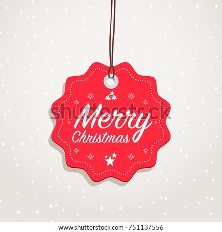 Merry Christmas Badge #751137556